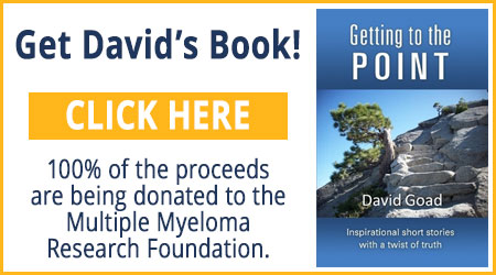 "Get David's Book, ""Getting to the Point"""